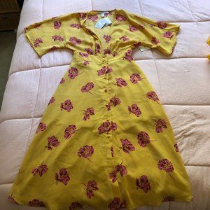 NWT F21 Floral Dress (S)